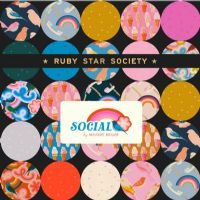 Moda Fabrics - Ruby Star - Social - Junior Jelly Roll